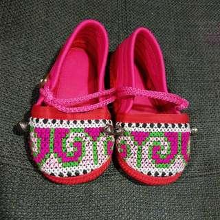 Unique handmade Baby Girl Shoe