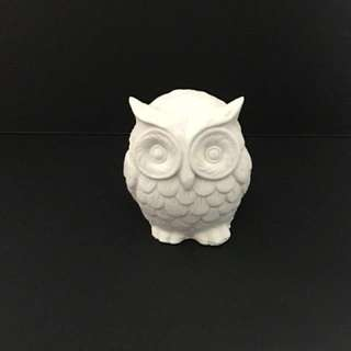 Owl Scented Clay Ornament
