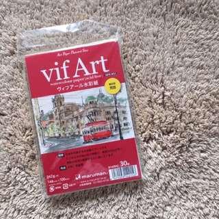 maruman vifArt watercolor paper