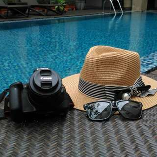 Miniso hat beach