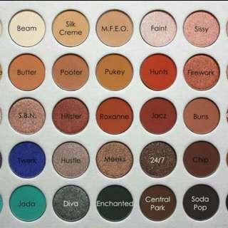 💄 The Jaclyn Hills Morphe X Eyeshadow Palette