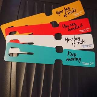 Collectable Air Iceland Connect Baggage tags!!