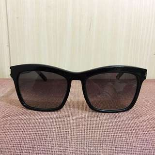 YSL Paris Bold Shield Sunglasses