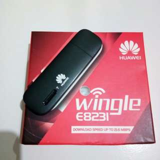 Wifi USB Modem huawei wingle E8231