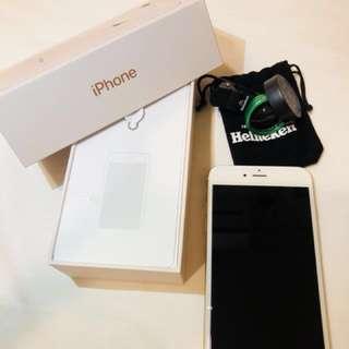 盒裝/近全新/I phone6 plus 64G/質感金64G/保存良好可配合面交/