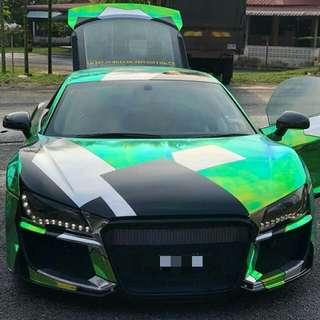 Audi R8 4.2 (A) Sambung Bayar Bayar /Car Continue Loan
