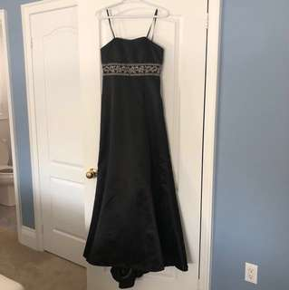 REDUCED PRICE Laura Strapless Prom Dress