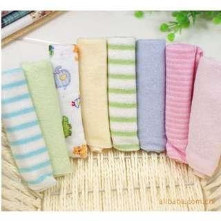 8pcs baby wash cloth / Baby handkerchief