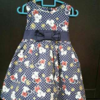 Mickey Mouse Dress 18 To 24 Months