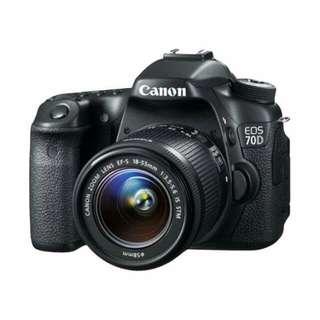 Canon EOS 70DL 18-55mm STM WIFI Kredit tanpa CC