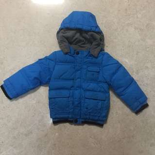 Winter Time Jacket in Blue (12M)
