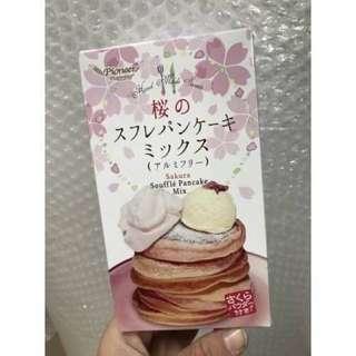 🚚 舒芙蕾鬆餅粉250g-櫻花限定限量版