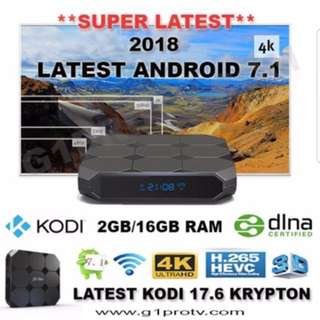 INSTOCK ANDROID 7/ ANDROID TV BOX MOON TV BUNDLE PACKAGE PROMO
