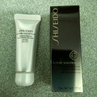 Shiseido Sunblock SPF 50+ (see pix 3 for free gift with purchase)