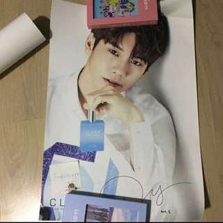 ONG POSTER (Clean Perfume)