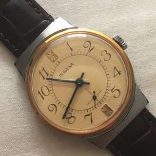 Soviet POBEDA (Victory) manual wind watch