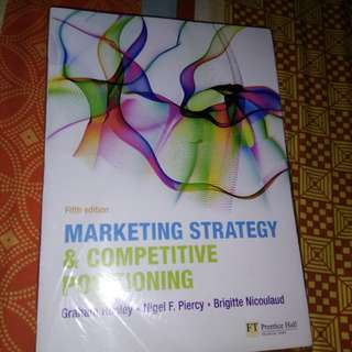 marketing strategy & competitive positioning 5th edition by.hooley