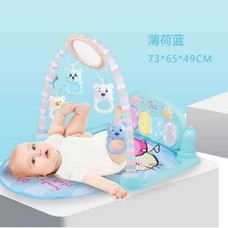 BNIB Baby Play Gym • Step Piano