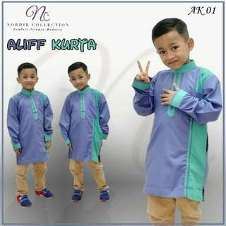 Kurta Aliff Purple