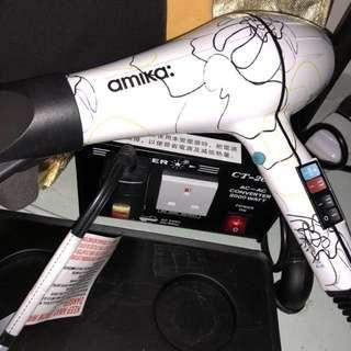 美版amika風筒+變壓器