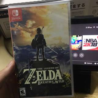 Switch 薩爾達全新 $480
