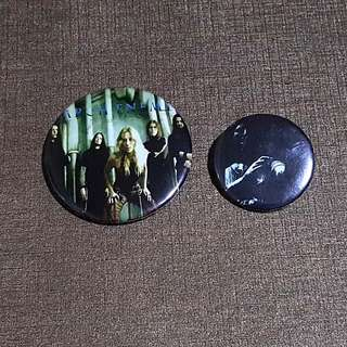 2 for $4 Arch Enemy Badges