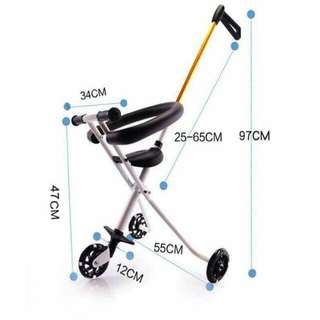 Foldable Stroller Bike