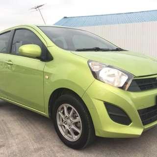 Perodua axia 1.0 G under warranty