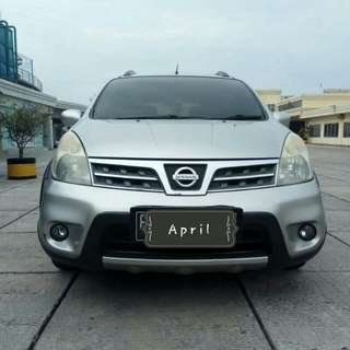 Nissan Livina X-Gear 1.5 AT 2010 silver