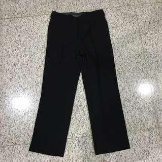 Celana bahan custom harrys palmer hitam