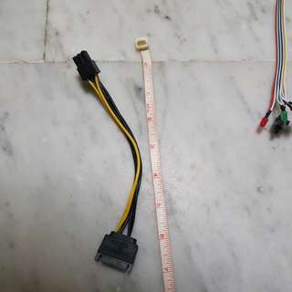 Pcie to sata power cable