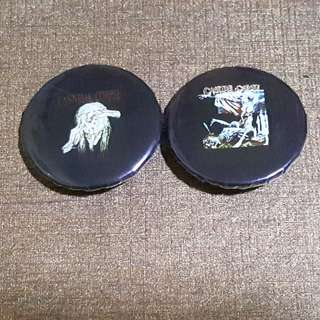 FREE 2 Small Cannibal Corpse Badges