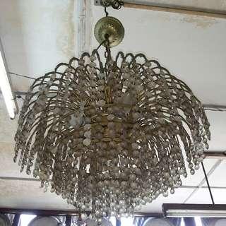 lampu tembaga kristal