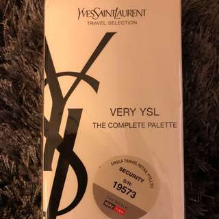 YVES SAINT LAURENT - TESTER - VERY YSL THE COMPLETE PALETTE