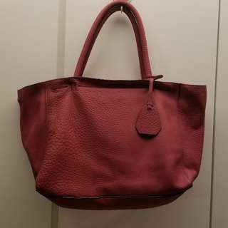 Rabeanco cow leather tote bag