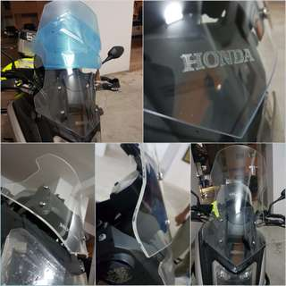 NC750X 2016 onwards 60cm WindScreen (Latest Design) installed 2/2/18