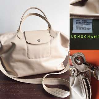Preloved authentic longchamp
