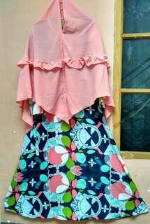 Gamis + jilbab syar'i