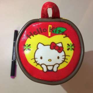 From Sanrio®Adorable Hello Kitty Pencil Case In Barrel Shapes