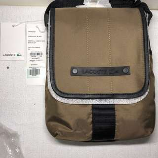 Lacoste Vertical Camera Bag with Flap