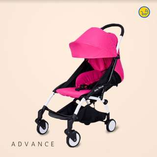 ORIGINAL Baby Throne Lightweight Foldable Stroller (Advance- 0-4 years old)