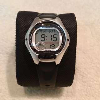 Casio Black Resin Digital Watch