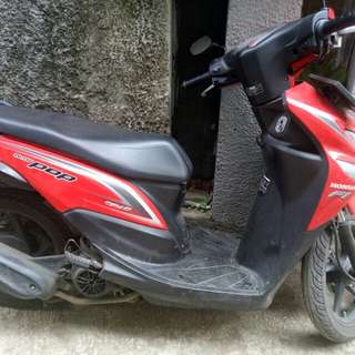 Motor honda beat pop thn 2015
