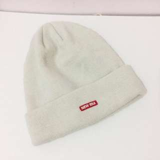 (包郵)New Era White Cold Hat 韓國冷帽