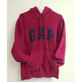 GAP Red Fleece Sweater Hoodie  (NO BARGAIN PLEASE!) $30