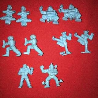 Street fighter II 1990s keshi figures