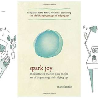 (Ebook) Spark Joy An Illustrated Master Class on the Art of Organizing & Tidying Up