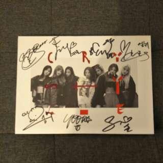 Clc signed album mwave