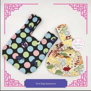 Japanese Top Knot Bag