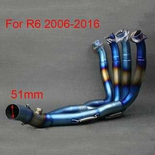 Header yzf R6 2006-2016
